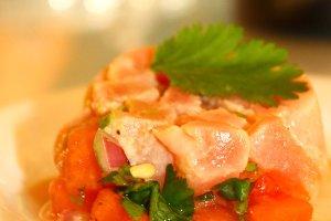 Ahi Tuna & Watermelon Ceviche