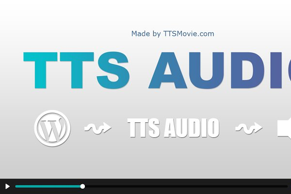 WordPress Plugins - TTS Audio - WordPress Plugin