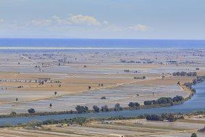 Ebro river and delta