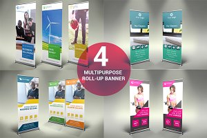 Multipurpose Roll Up Banners - SK