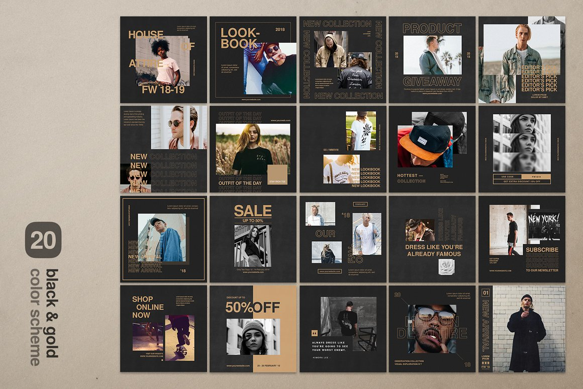 Instagram Bundle - Streetwear