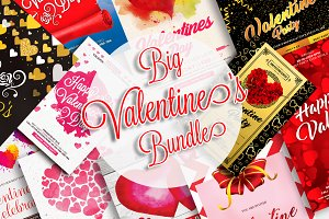 35 Valentines Day Items Big Bundle