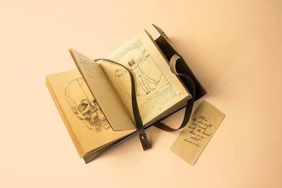 Free 12 Vintage Notebook Mock-ups