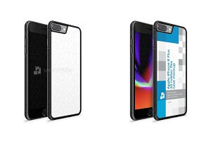 iPhone 8 Plus 2d Rubber Flex Mobile