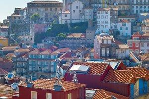 Ribeira Old Town of Porto Portugal