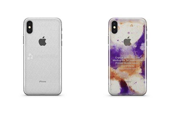Apple IPhone X 3D Crystal Case