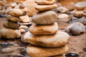 Stones Pyramid At Narrows