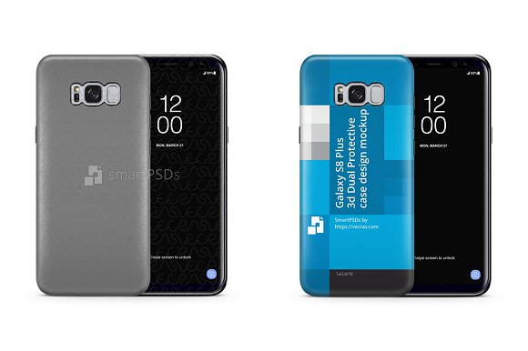 Galaxy S8 Plus 3D Dual Protective