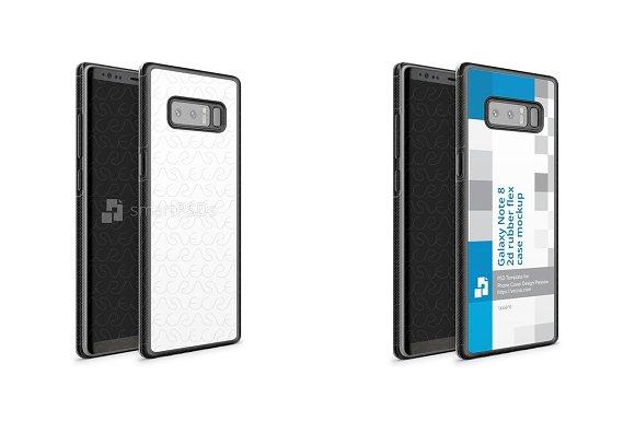 Galaxy Note 8 2d Rubber Flex Mobile