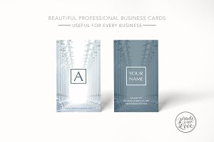 Beautiful rich texture business card