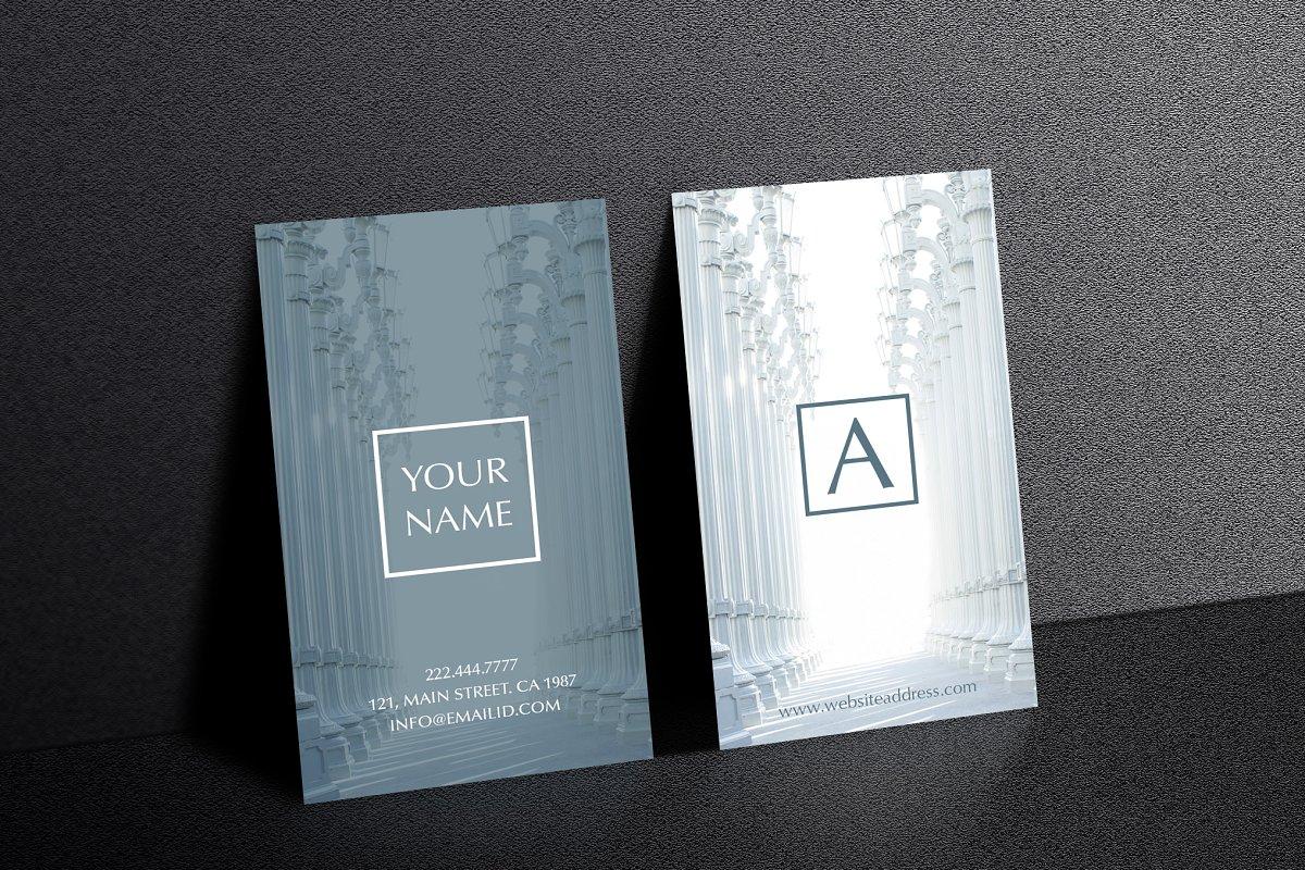 Beautiful rich texture business card
