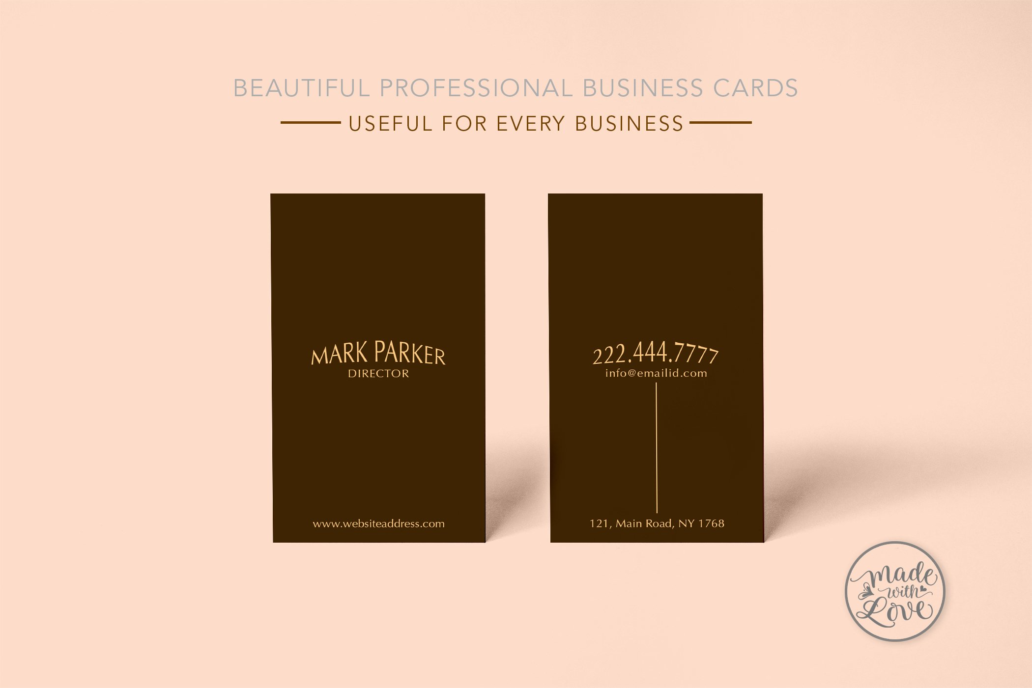 Music studio singer business card ~ Business Card Templates ...