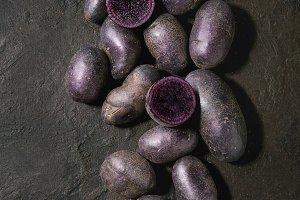 Raw potatoes miss blush