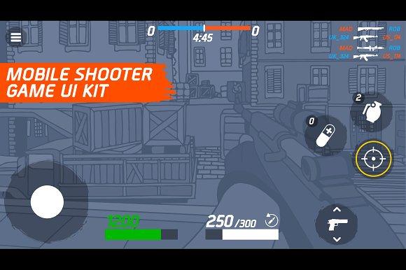Mobile Shooter Ui Kit