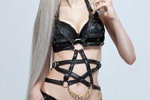 Female bondage accessory.