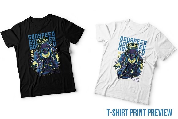 Godspeed Illustration in Illustrations - product preview 4