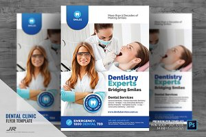 Dental Clinic Services Flyer