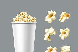 Set of popcorn kernels