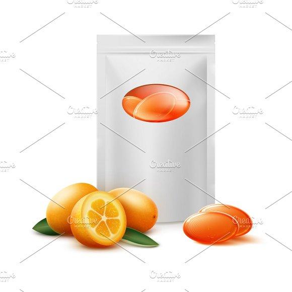 Pack Of Orange Citrus Candies