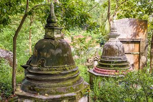 Ancient Buddhist stupas