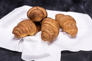 tasty baked croissants
