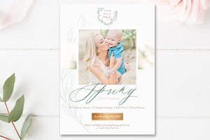 Spring Mini Session Marketing Board