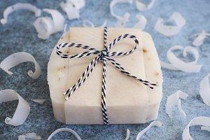 Homemade Natural Soap Bar