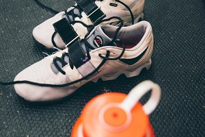 CrossFit Lifting Shoes-Water Bottle