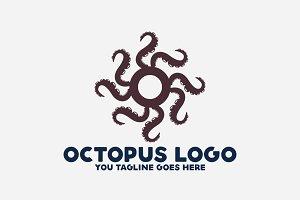 Octopus O Letter Logo