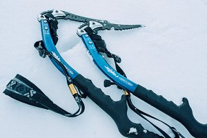 Ice Climbing Axe Tools Side Profile