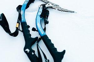 Ice Climbing Axe Tools Pair
