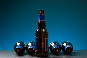 Social media & drink concept