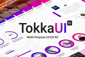 TOKKA Multi-Purpose UI/UX Kit