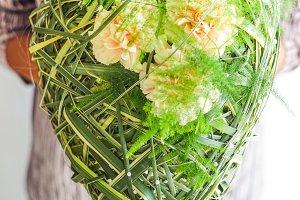 Creative flower's bouquet