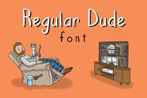 Regular Dude Font