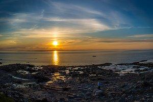 Impressive sunset (AgNO3)
