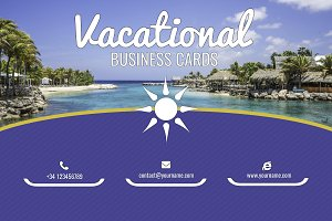 Vacational Business Card Templates
