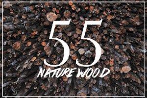 55 Nature Wood