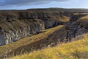 landscape by gullfoss (AgNO3)
