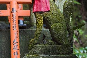 kitsune statue