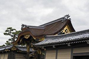 kyoto castle gates