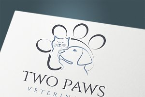 "Logo ""Two Paws"""