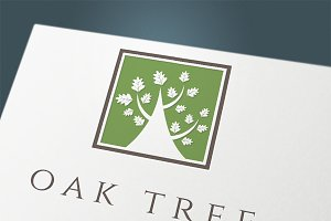 "Set logo ""Oak company"""