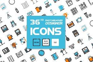 36x3 Photographer & Designer gadget