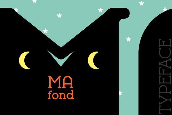 Slab Serif Fonts: Etewut - Mafond