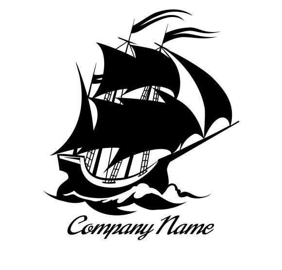 Sail boat logo icon ~ Icons ~ Creative Market