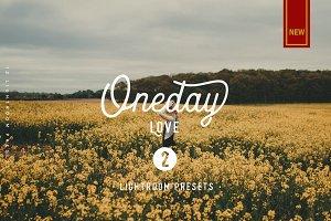 Oneday : Love vol.2 Lightroom preset