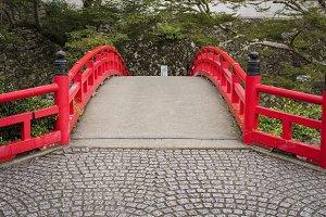 red stone bridge