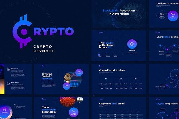 CRYPTO Keynote Template