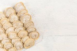 Russian handmade dumplings